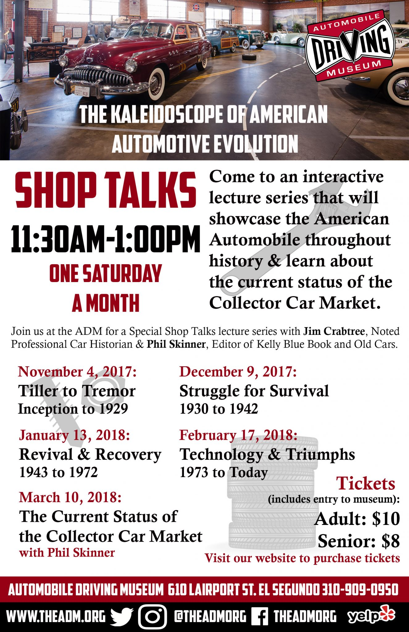 SHOP TALKS - The Kaleidoscope of American Automotive Evolution ...